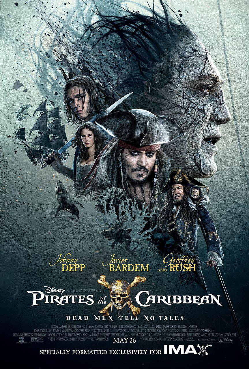 Pirates of the Caribbean 5 Dead Men Tell no Tales - Pirati dei Caraibi la vendetta di Salazar - poster