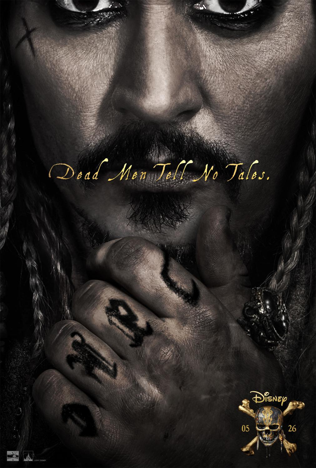 Pirates of the Caribbean 5 Dead Men Tell no Tales - Pirati dei Caraibi la vendetta di Salazar - Johnny Depp