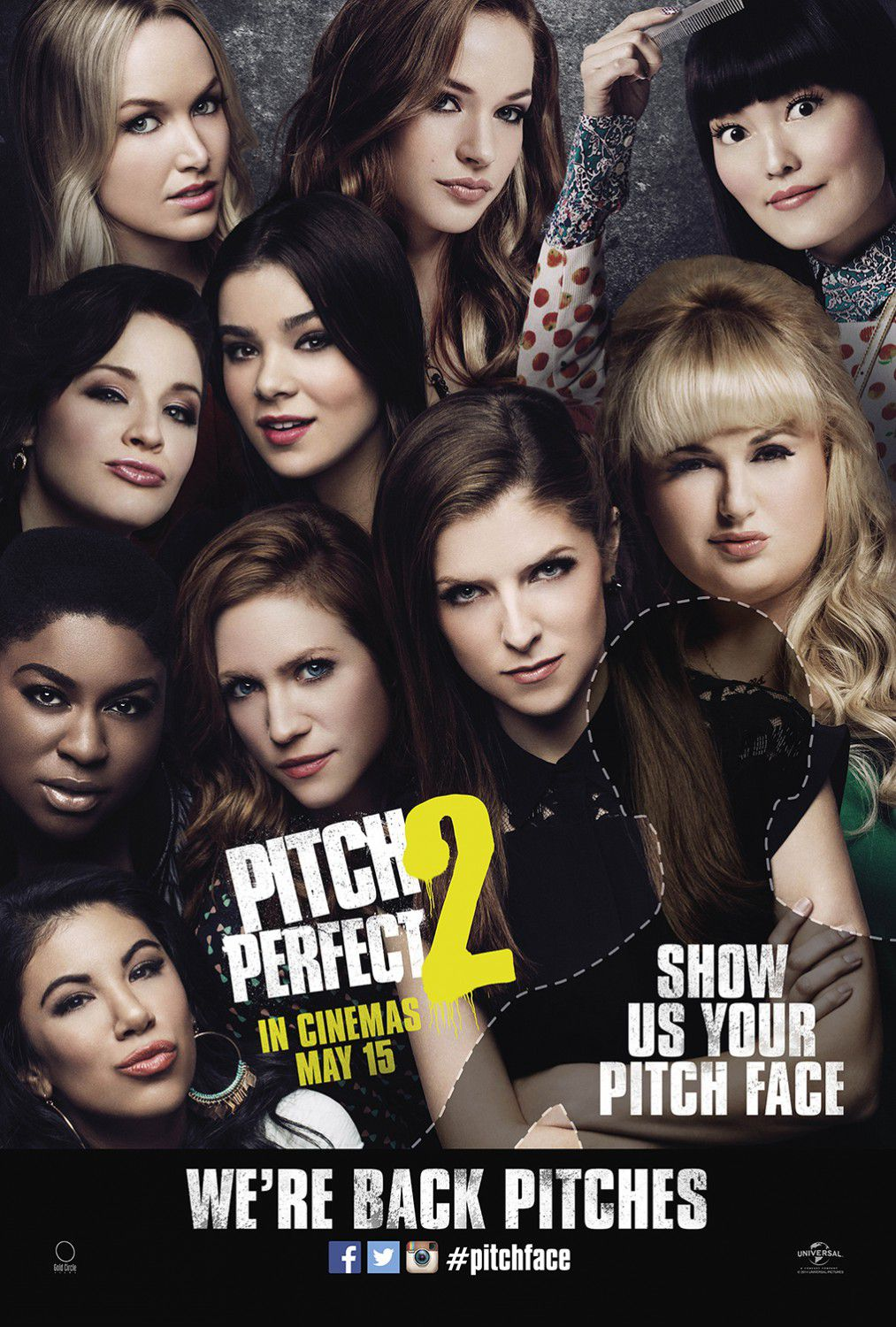 Pitch Perfect 2 - Voices 2 - film poster