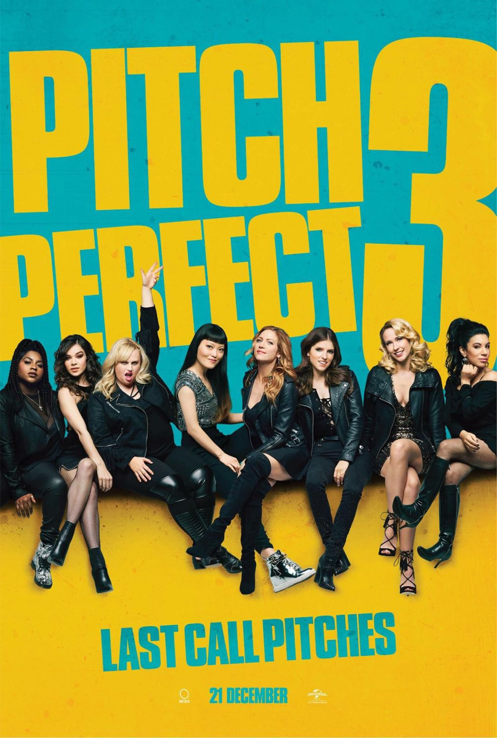 Pitch Perfect 3 - last music film poster