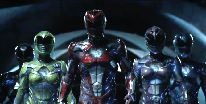 Power Rangers - action movie film 2017