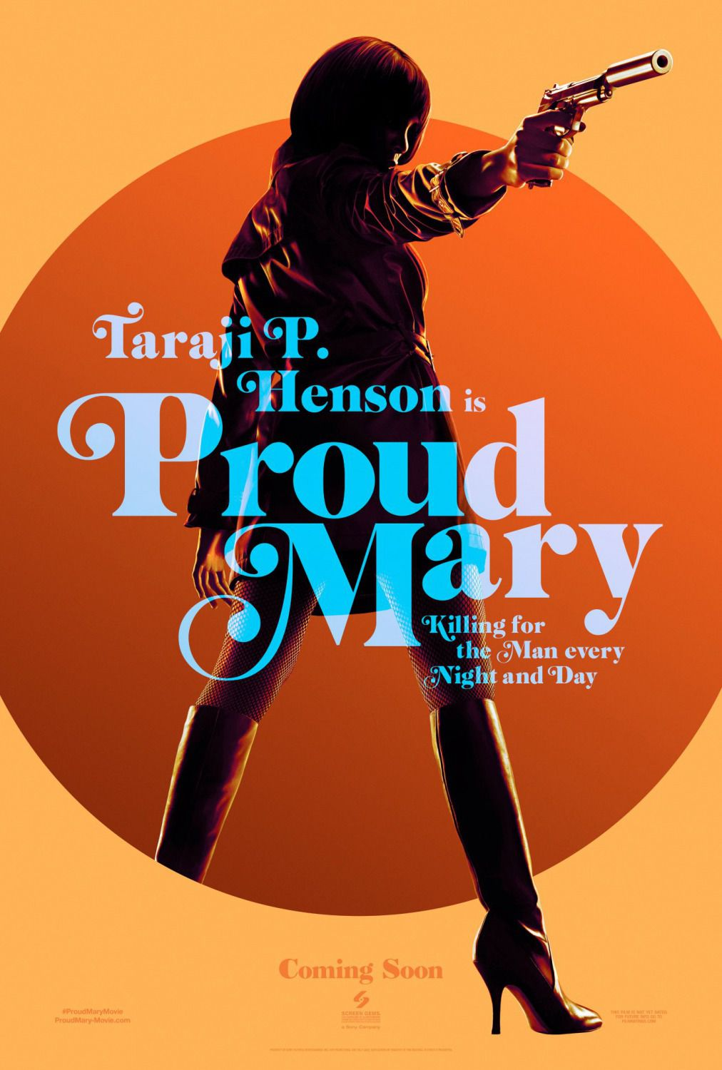 Taraji P. Henson is Proud Mary ... killing for the man every night and day