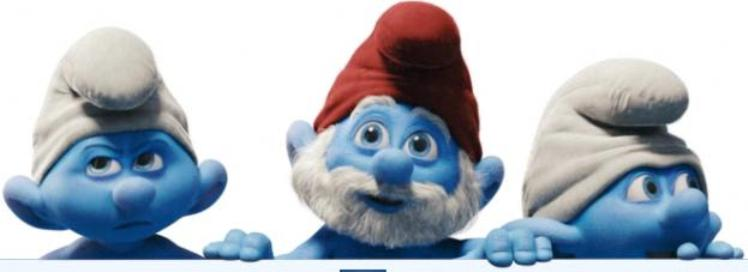 Film Puffi in 3D - The Smurfs Movie