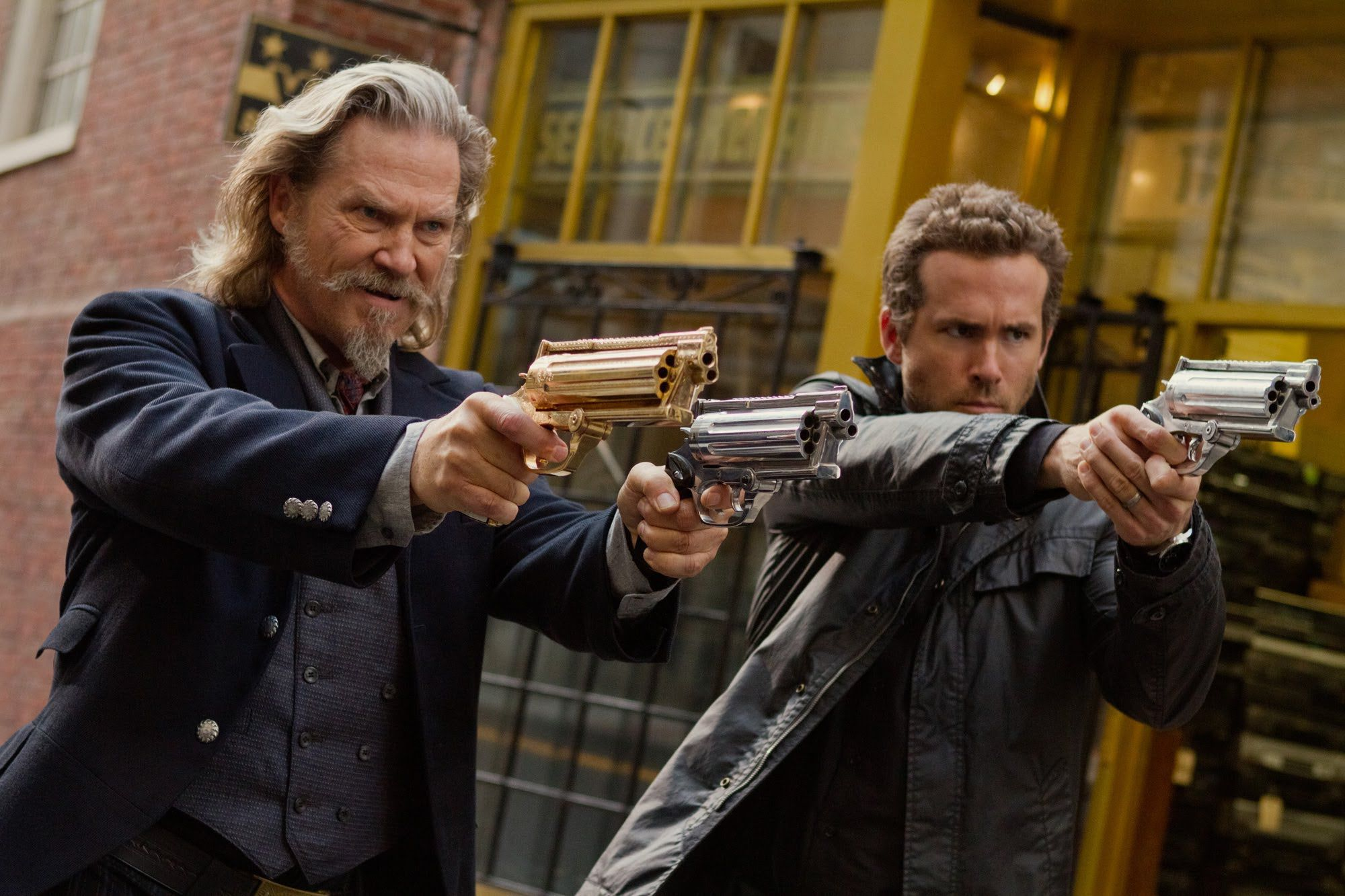 Jeff Bridges e Ryan Reynolds