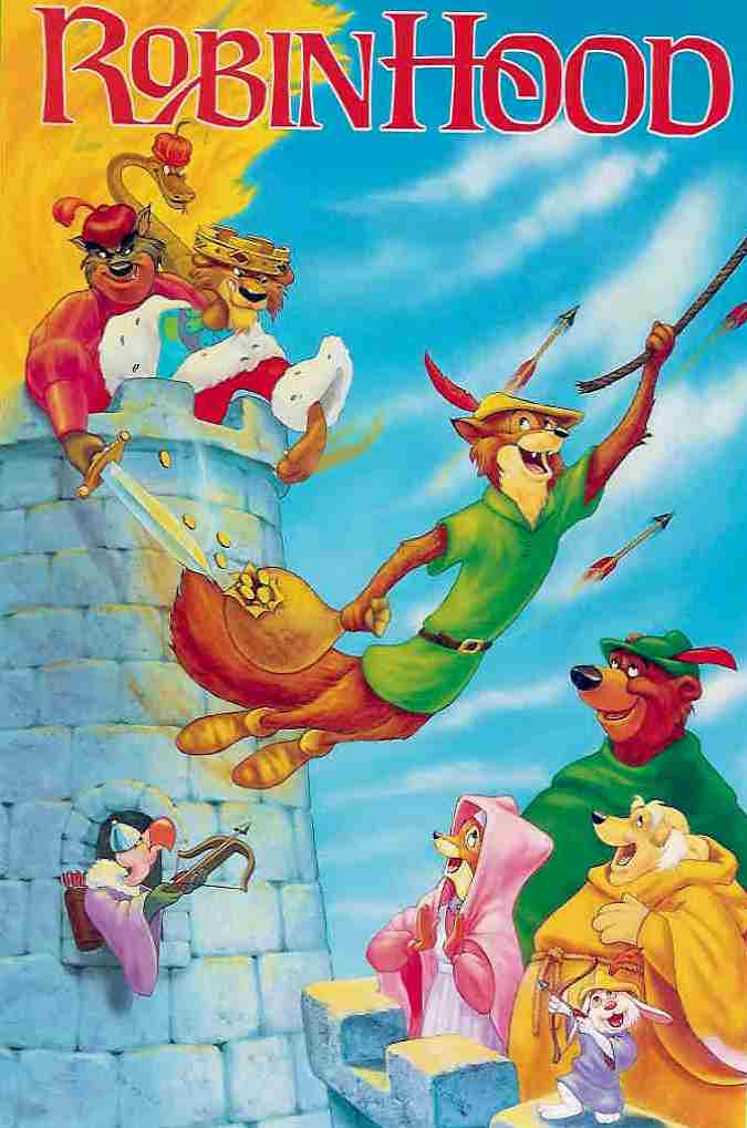 Cat film robin hood disney