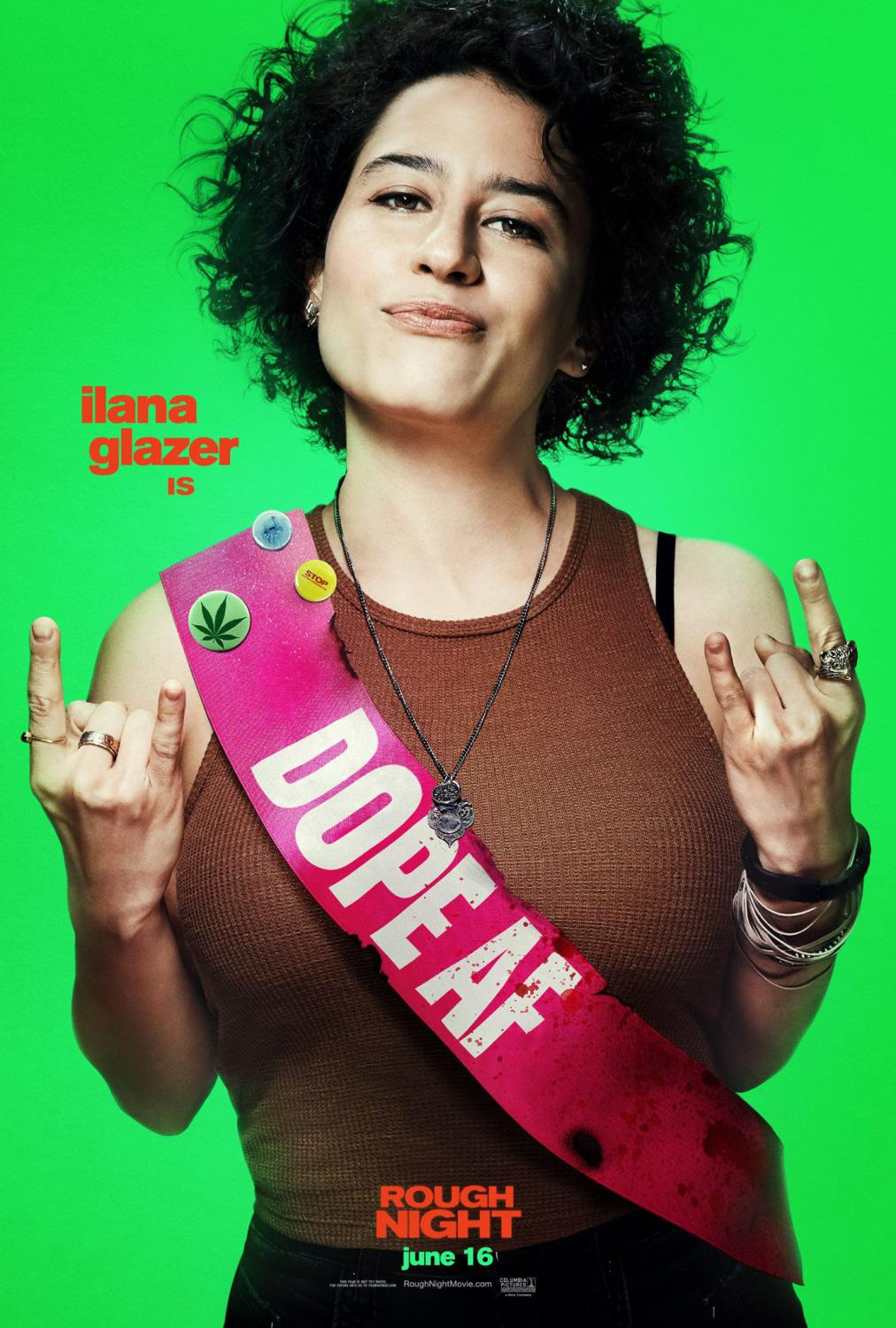 Crazy Night - Festa col morto - Rough Night - Girls Night Out - Pire Soirée - Noche fuera Control - Ilana Glazer