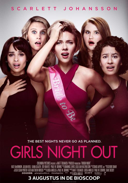 Crazy Night - Festa col morto - Rough Night - Girls Night Out - Pire Soiree - Noche fuera Control
