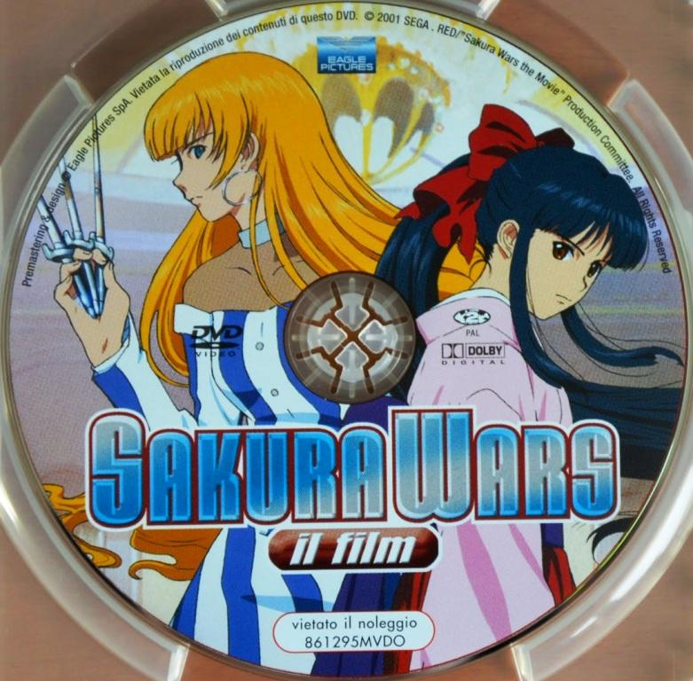Sakura Wars il film - animation - anime - DVD