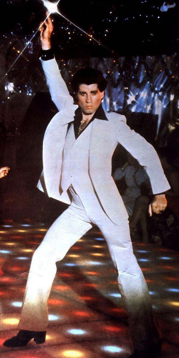 La Febbre del Sabato Sera - Saturday Night Fever - John Travolta - white dress