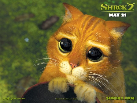 Shrek 2 - Gatto - Gato - Chat - Cat - Neko
