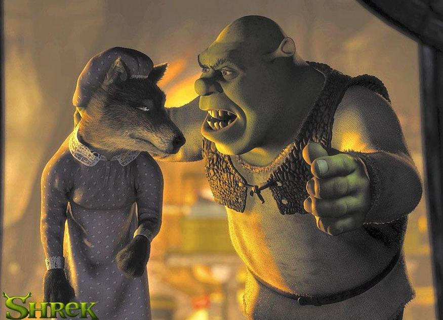 Shrek e Bad Wolf