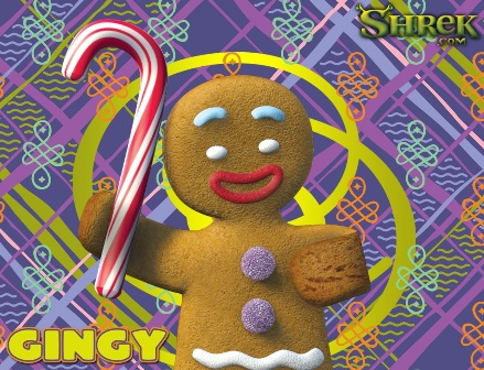 Shrek - Gingerbread Man