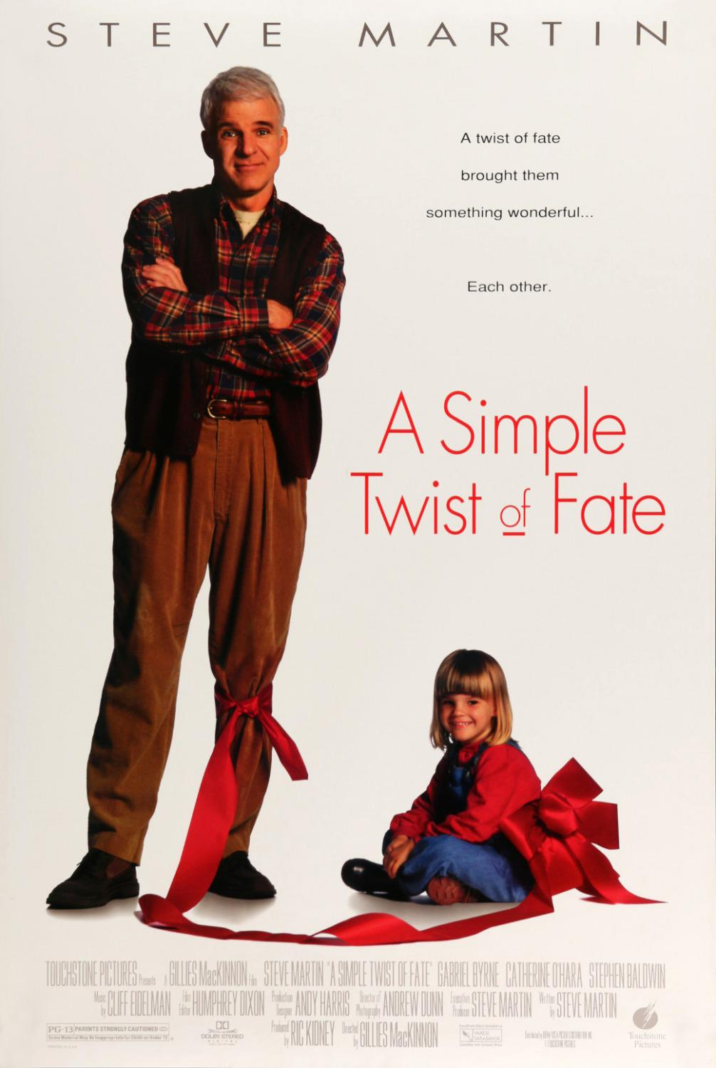 Simple twist of fate - Uno Strano Scherzo del Destino - Steve Martin - poster