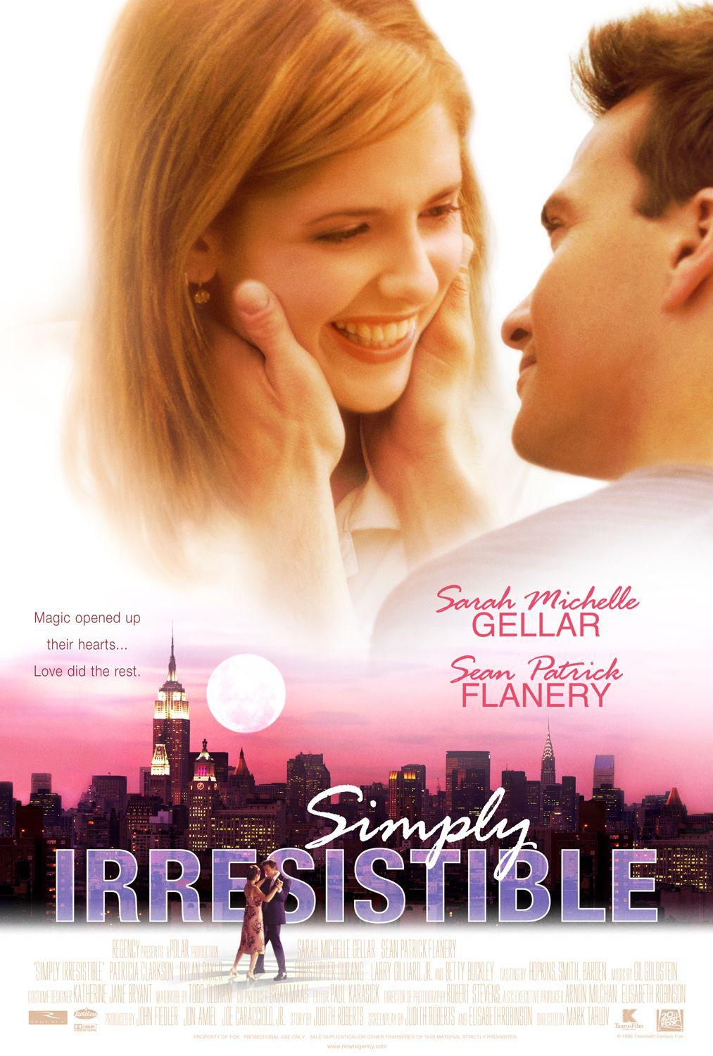 Simply irresistible - Sarah Michelle Gellar - Sean Patrick Flanery - Magic opened up their hearts. Love did the rest.