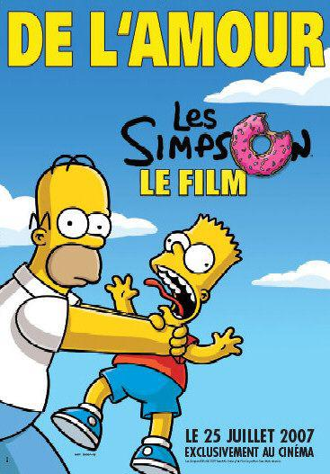 Simpsons movie - Bart e Homer