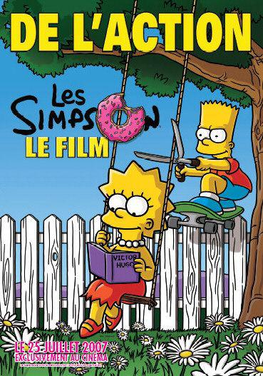 Simpsons movie - Bart e Lisa