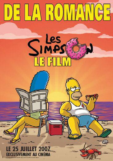 Simpsons movie - beach