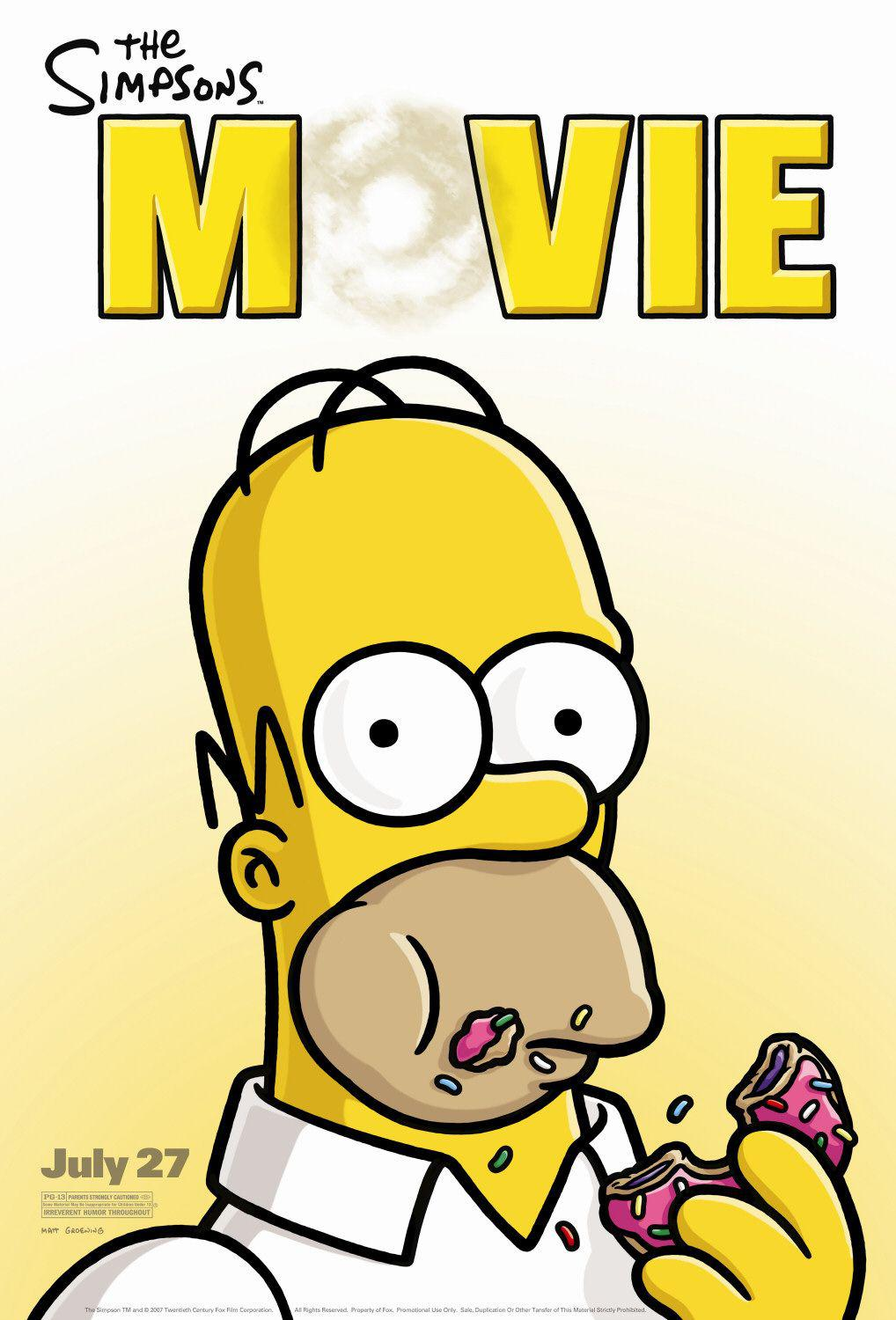 Simpsons movie - Homer