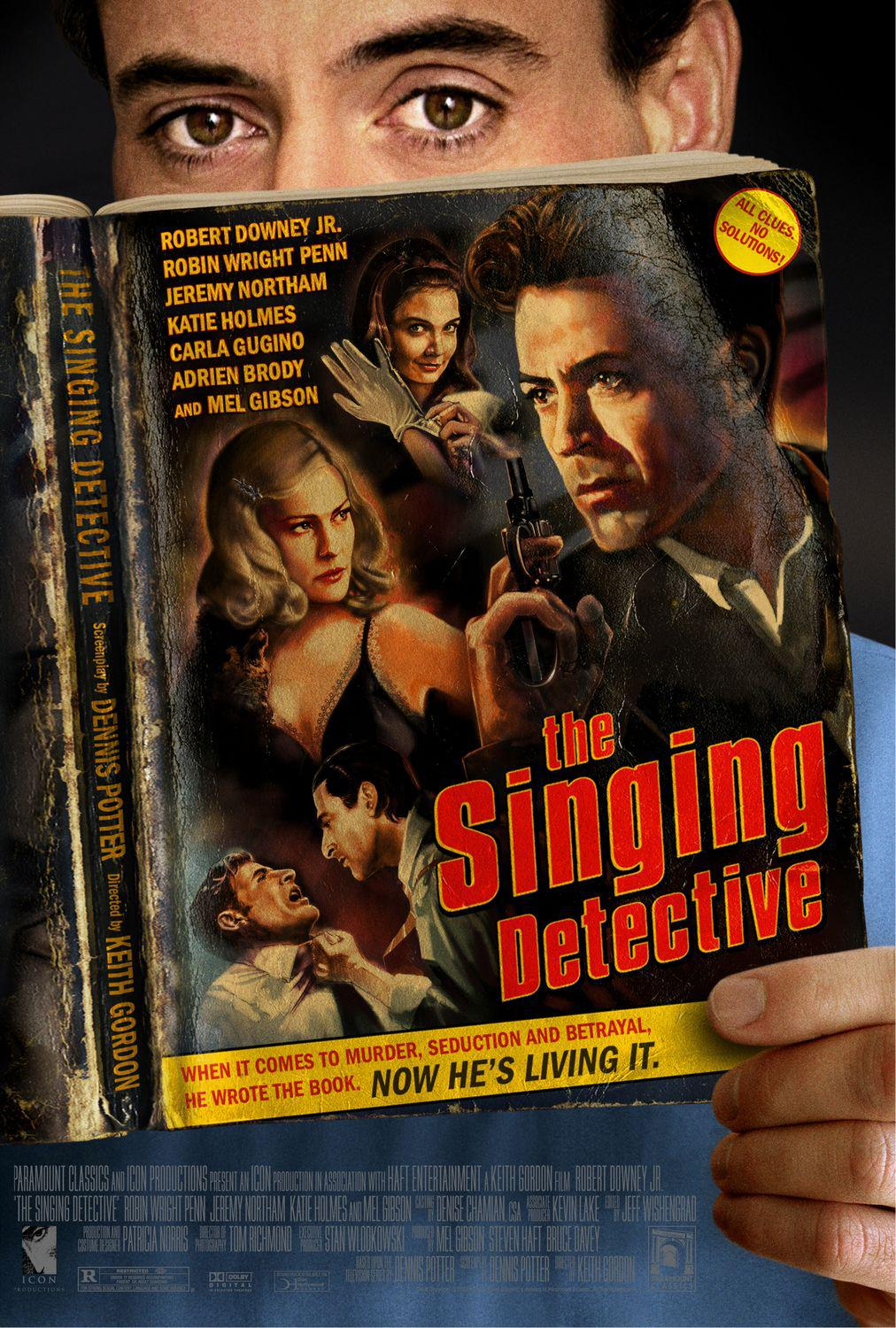 Singing Detective - Robert Downey Jr. - Robin Wright Penn - Jeremy Northam - Katie Holmes - Carla Gucino - Adrien Brody - Mel Gibson