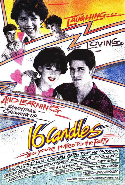 Sixteen Candles - Molly Ringwald - Paul Dooley - Justin Henry