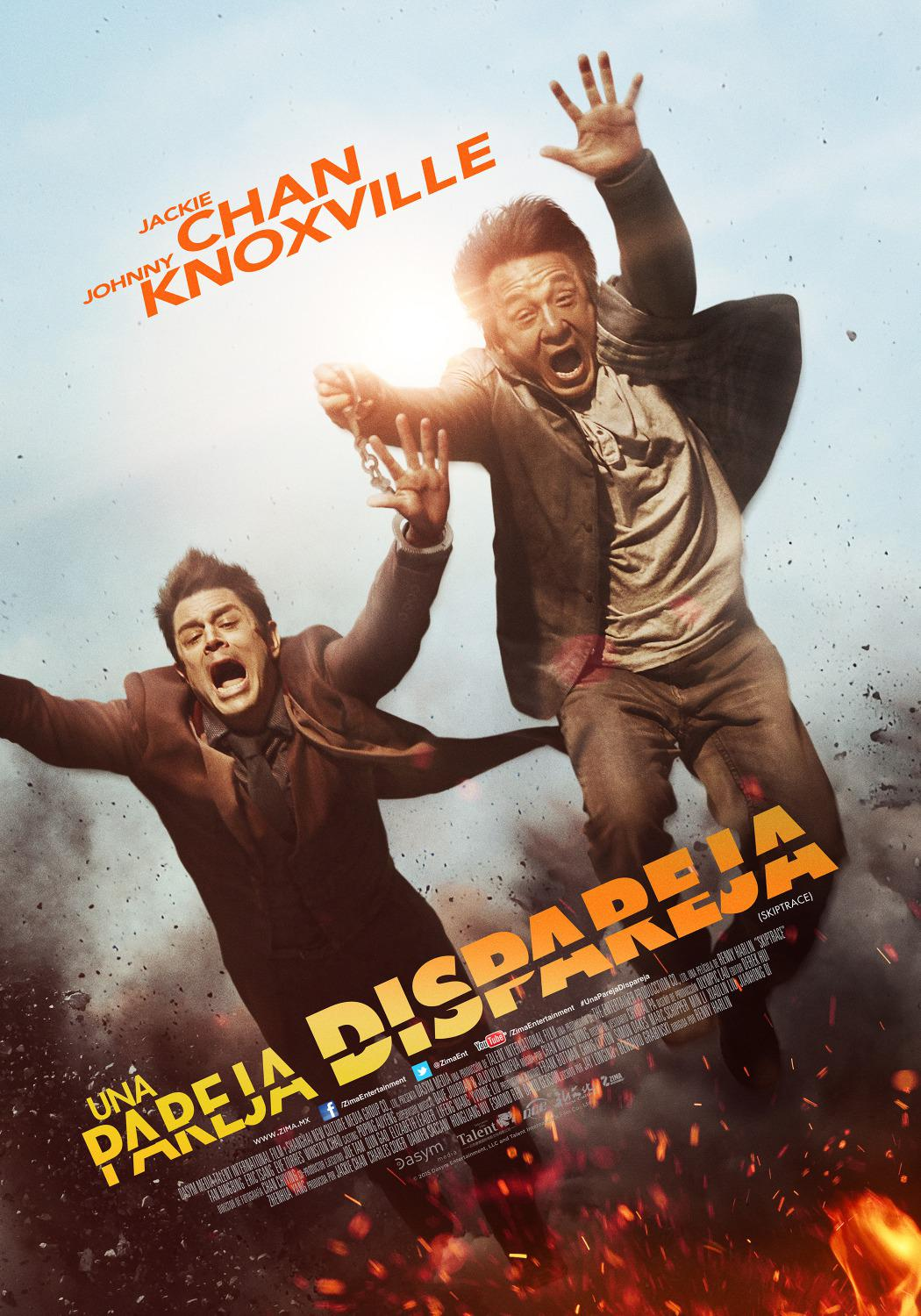 Skiptrace - Jackie Chan - Johnny Knoxville