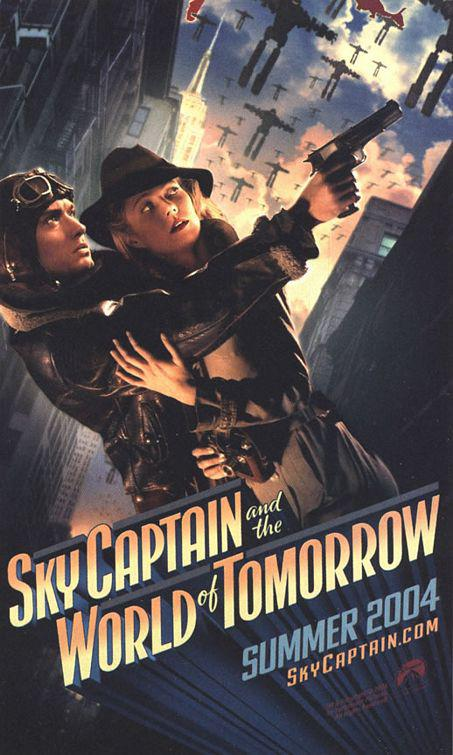 Sky Captain and the World of Tomorrow - poster