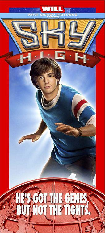 Sky High - Scuola di Superpoteri - poster - Will