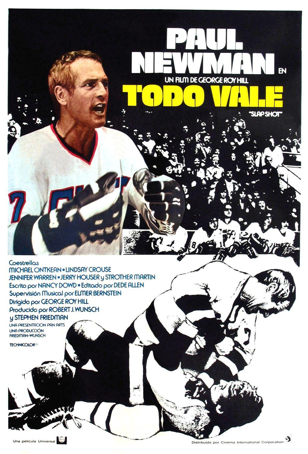 Slap Shot - Paul Newman