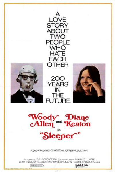 Sleeper - Il Dormiglion - Woody Alen - Diane Keaton