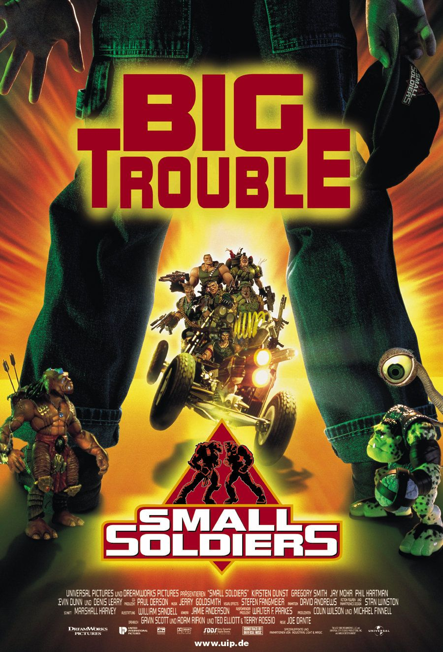 Small Soldiers - poster