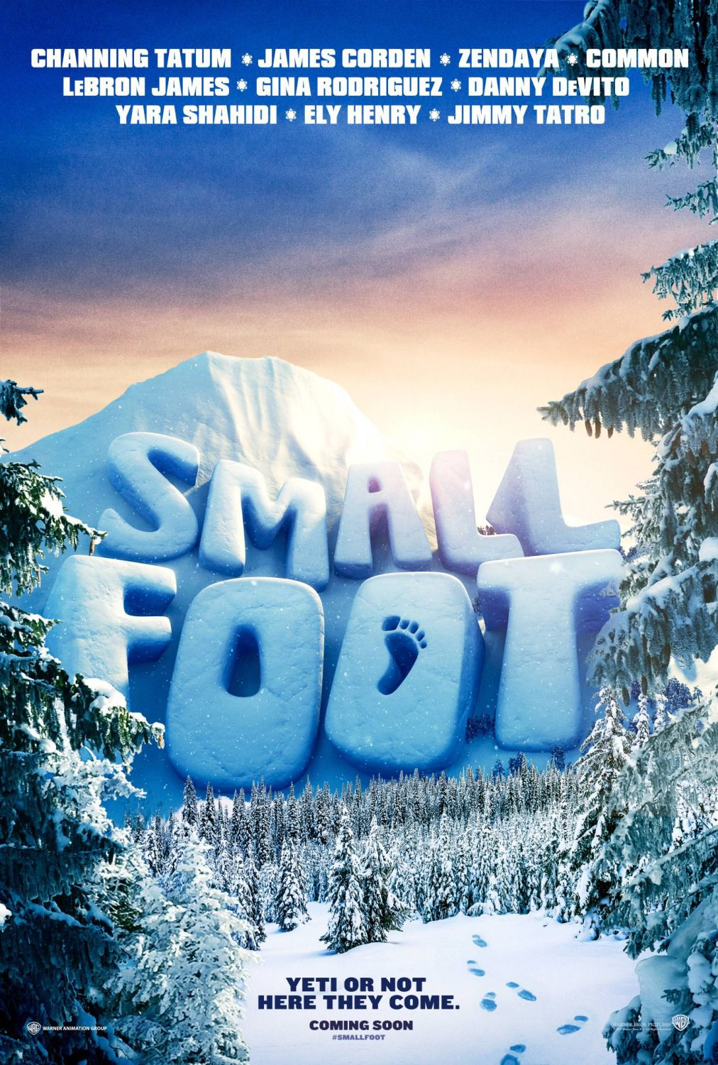 Smallfoot - poster
