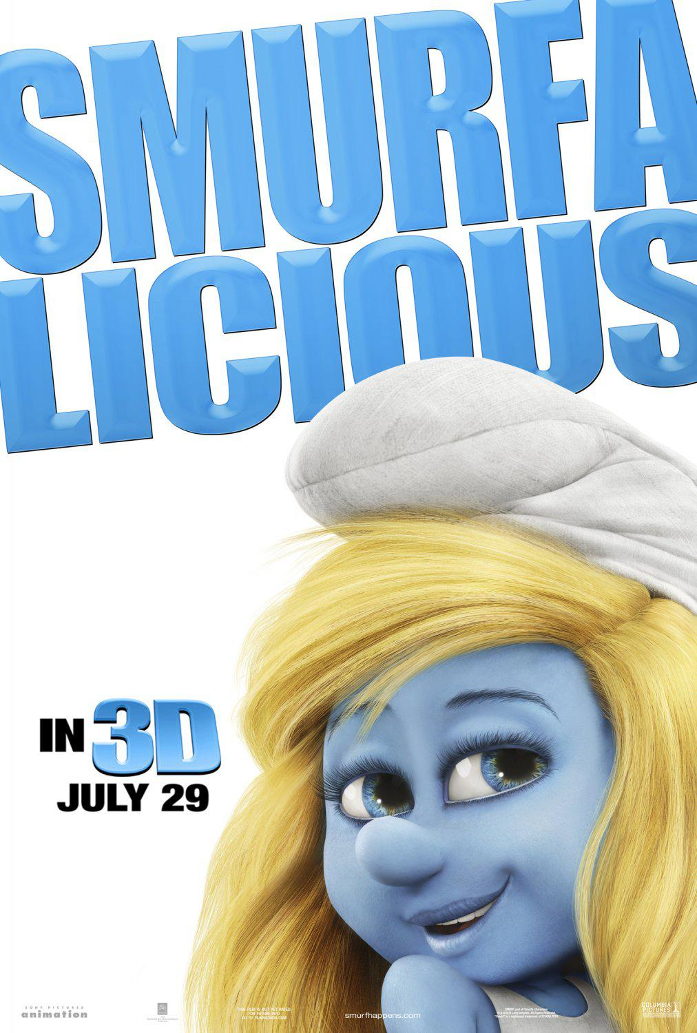 Film I Puffi in 3D - Movie Smurfs in 3D - Smurfalicious - Puffoso