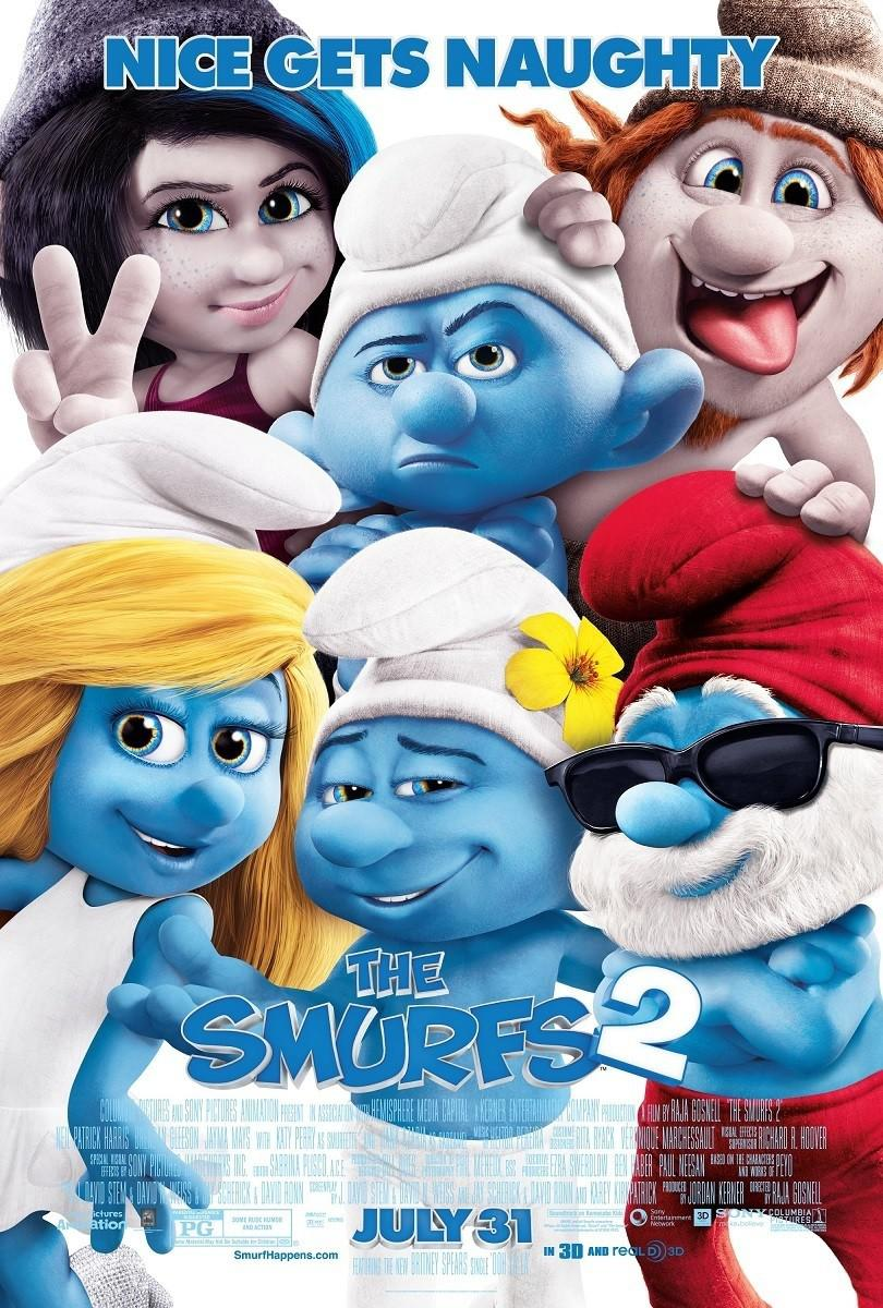 I Puffi 2 in 3D - Smurfs in 3D two