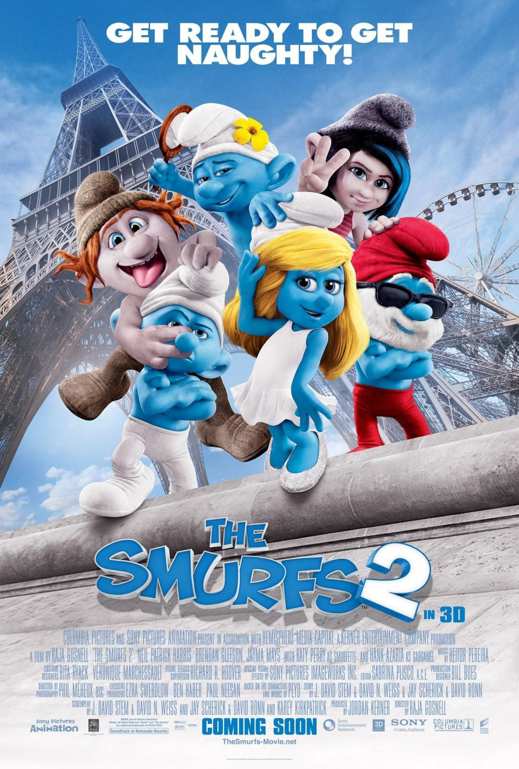 I Puffi 2 in 3D - Smurfs in 3D two - poster