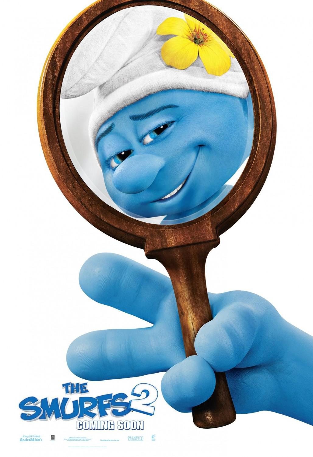 I Puffi 2 in 3D - Smurfs in 3D two - beauty - mirror