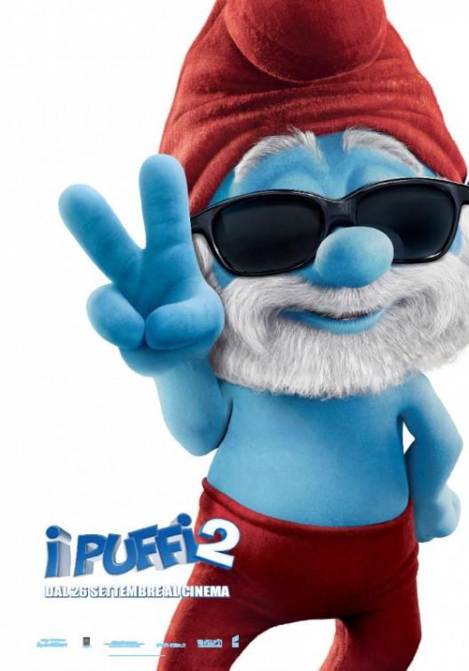 I Puffi 2 in 3D - Smurfs in 3D two - Papa - Grande Puffo
