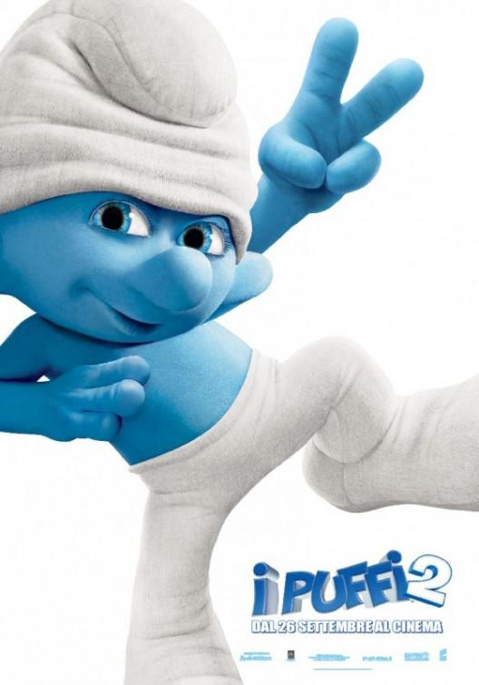 I Puffi 2 in 3D - Smurfs in 3D two - Clumsy - Pasticcione