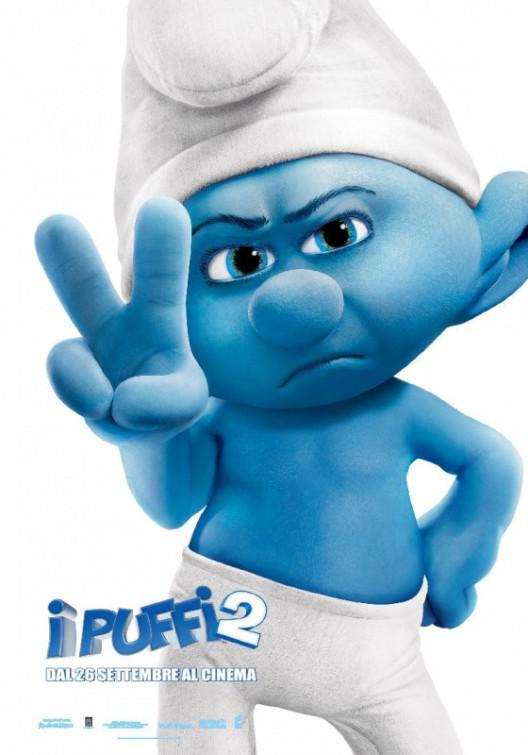 I Puffi 2 in 3D - Smurfs in 3D two - Grouchy - Brontolone