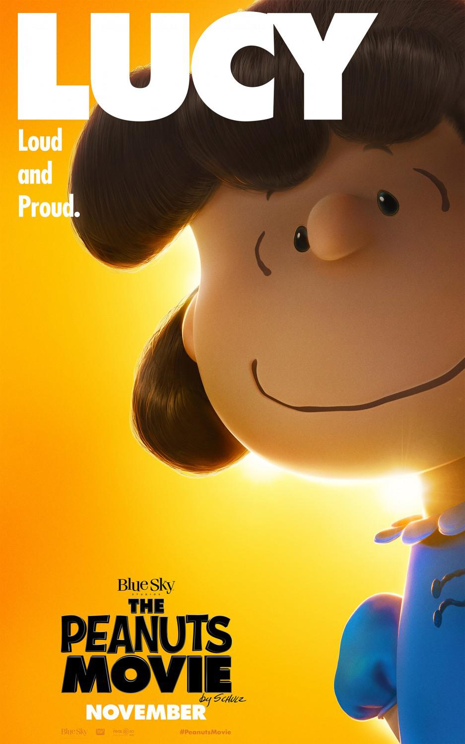 Snoopy and Charlie Brown the peanuts movie - Lucy