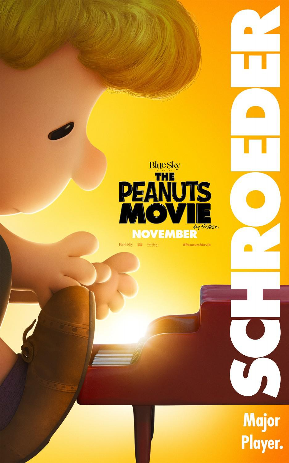 Snoopy and Charlie Brown the peanuts movie - Schroeder