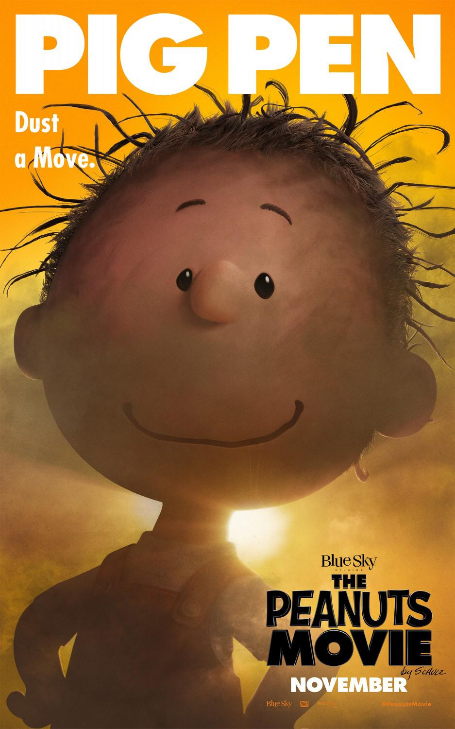 Snoopy and Charlie Brown the peanuts movie - Pig Pen
