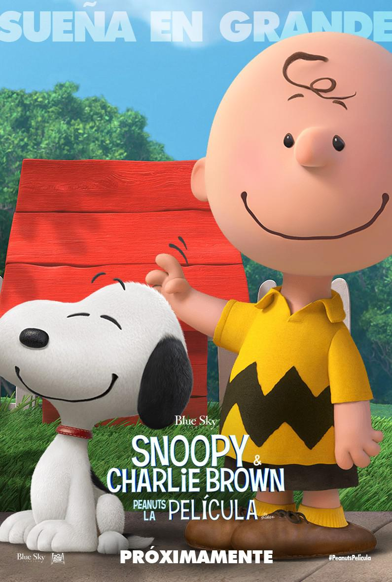 Snoopy and Charlie Brown the peanuts movie - poster