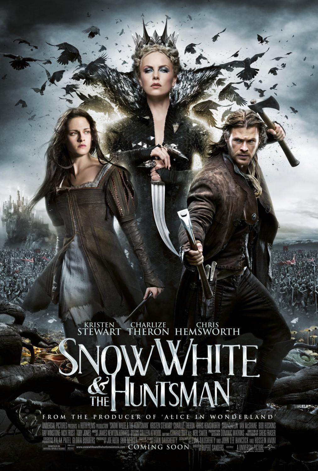 Snow White and the Huntsman - Snowhite - Biancaneve e il Cacciatore - poster