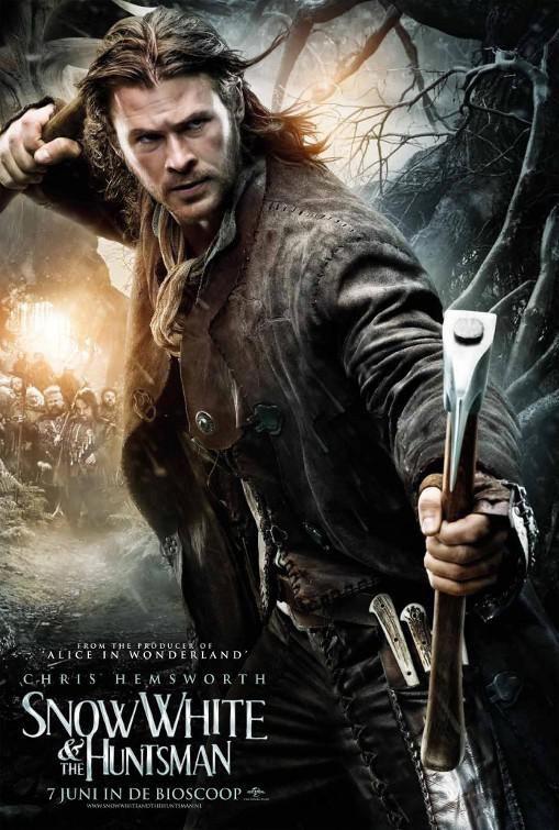 Snow White and the Huntsman - Biancaneve e il Cacciatore - Eric (Chris Hemsworth) Cacciatore Huntsman