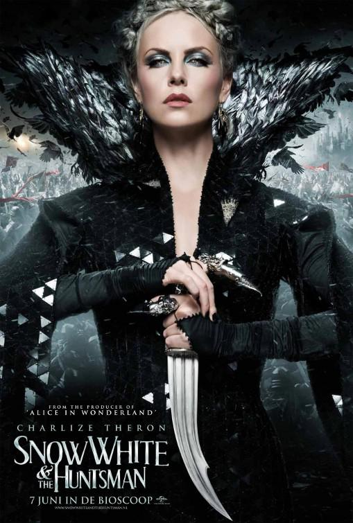 Snow White and the Huntsman - Biancaneve e il Cacciatore - Ravenna (Charlize Theron) Regina cattiva - Evil Queen