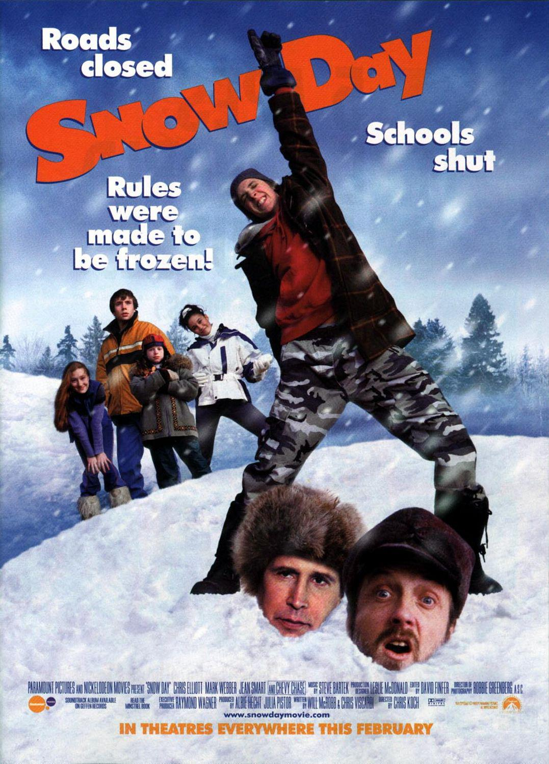 Snow day  - movie poster