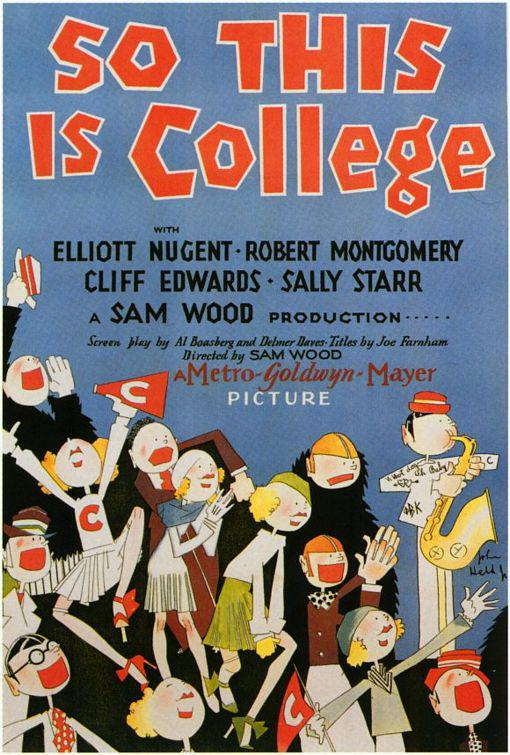Film - So this is College - 1929