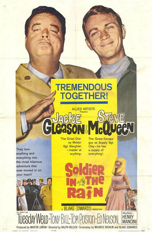 Soldier in the Rain - Tremendous Together - Jackie Gleason - Steve McQueen