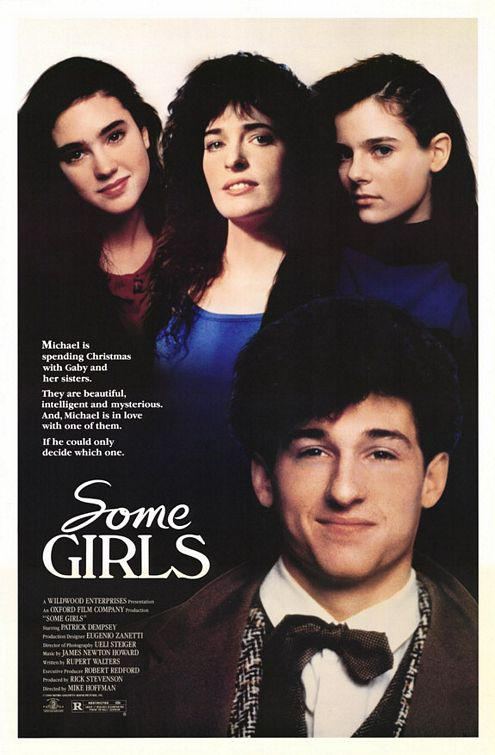 Some girls - 1988 - Michael is spending Christmas with Gaby and her sisters. They are beautiful, intelligent and mysterious. Michael is in love with one of them. If he could only decide wich one. - Patrick Dempsey - film poster