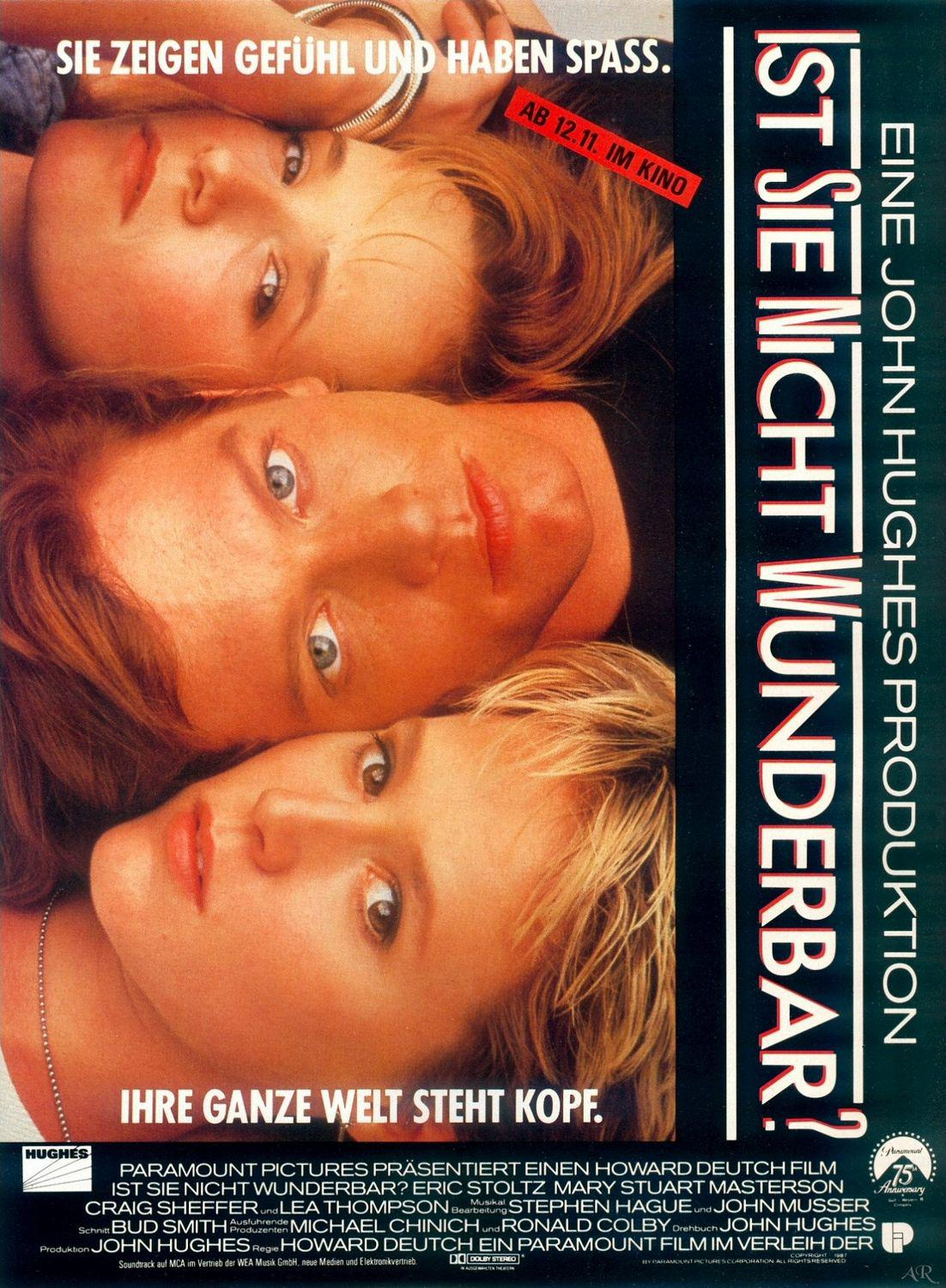 Film - Meraviglioso Batticuore - Some kind of Wonderful - Eric Stoltz - Mary Stuart Masterson - Craig Sheffer